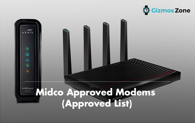 Midco Approved Modems