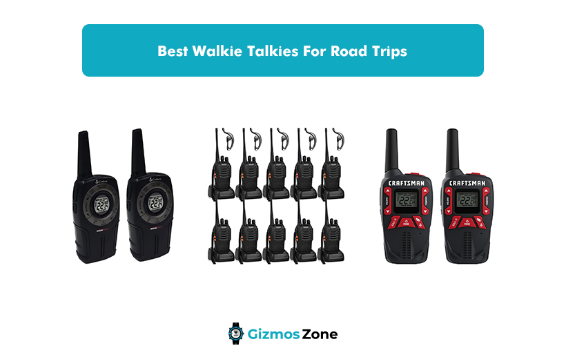 Best Walkie Talkies For Road Trips