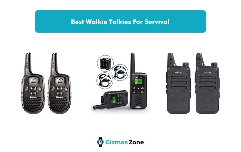 Best Walkie Talkies For Survival