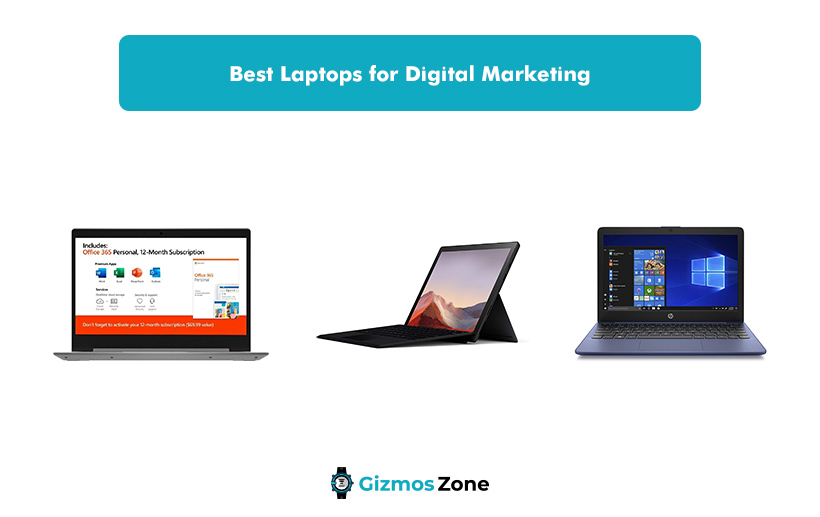Best Laptops for Digital Marketing