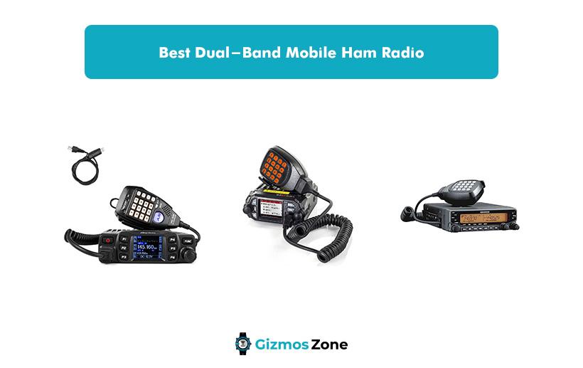 Best Dual-Band Mobile Ham Radio