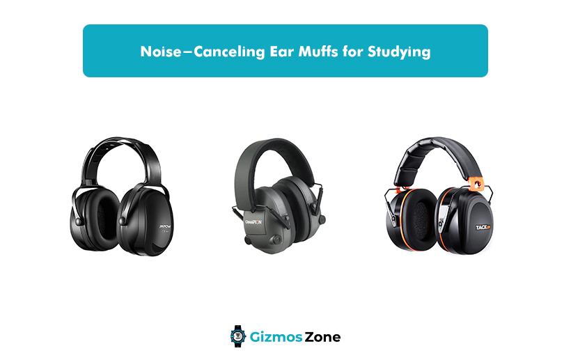 Noise-Canceling Ear Muffs for Studying
