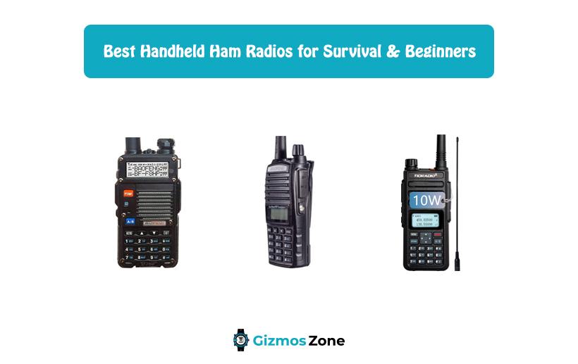 Best Handheld Ham Radios for Survival & Beginners