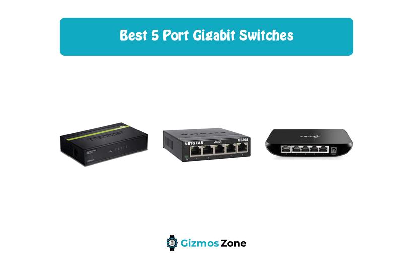 5 Port Gigabit Switches