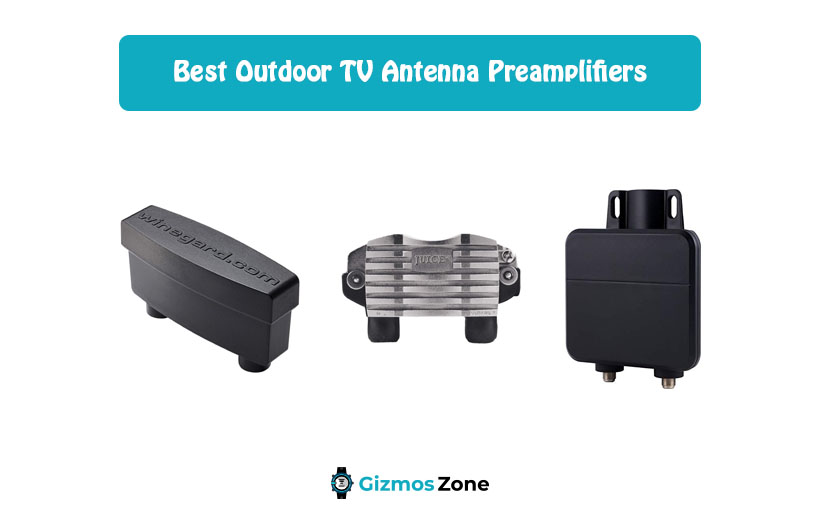 Outdoor TV Antenna Preamplifiers