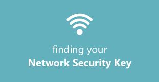 Network Security Key on Windows 10