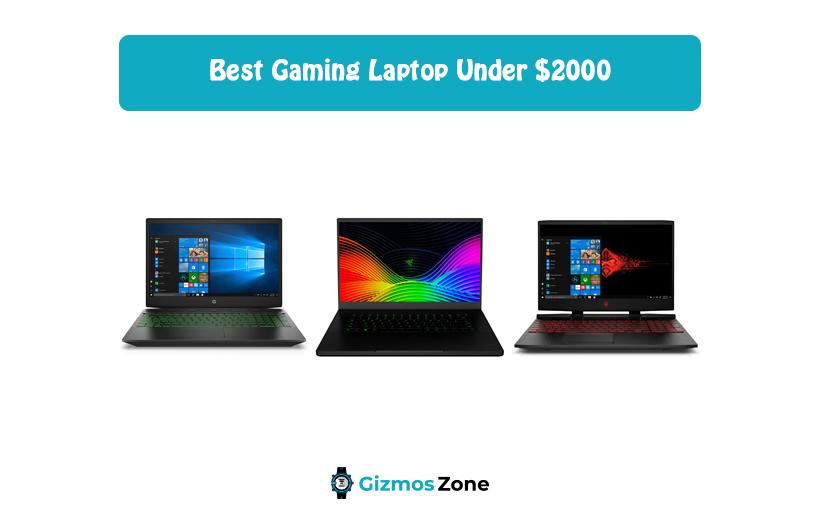 Best Gaming Laptop Under $2000