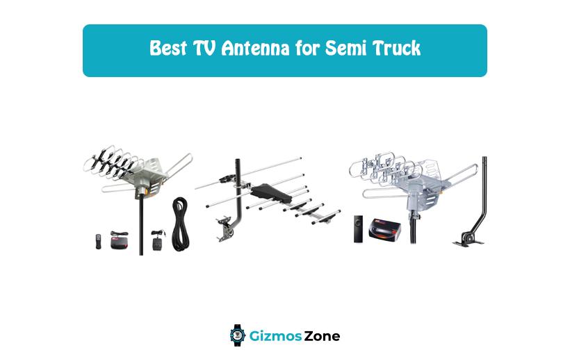 Best TV Antenna for Semi Truck