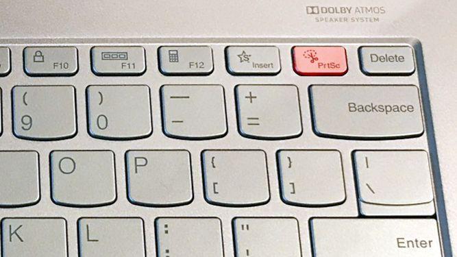 How to Screenshot on Lenovo Laptop